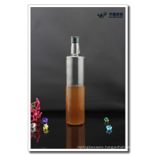 750ml 25oz Empty Clear Bottle for Olive Oil with Cap