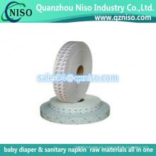 Papel de liberación de silicona para servilletas sanitarias y cinta adhesiva de forro interior