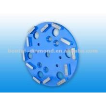 Cabezales rectificadores para la molienda de hormigón