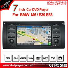 Windows Ce reproductor de DVD de coche para BMW 5 Series GPS Tracker con navegación GPS Hualingan