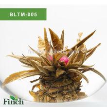 Meilleur Chirstmas Cadeau UE Certificat Chinois Artistique Main Fruit Saveur Blooming Thé Boule