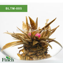 Finest Chirstmas Gift EU Certificate Chinese Artistic Handmade Fruit Flavor Blooming Tea Ball