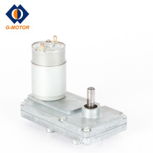 Small dc gear motor for fireplace feeding system