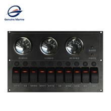 Marine Boat Yacht RV Car Custominelzed Waterproof Alarm Circuit Breaker Electrical Panel