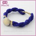 Alibaba nova chegada moda diamante 8 pulseira de corda