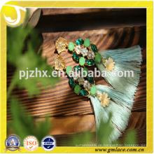 Zhejiang Großhandelsart und weise Rayon-Ohrring-Troddel für Dekoration