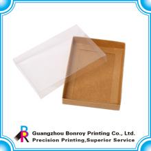 Benutzerdefinierte Klar Papier falten Babyschuh-Box-Verpackung