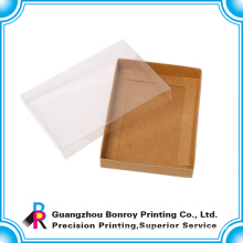 Custom Clear Paper Folding Baby Shoe Box Packaging