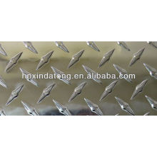 bright finish diamond patterned aluminum sheet plate