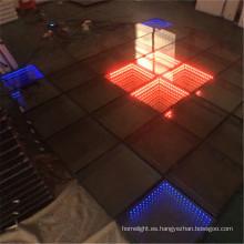 Iluminación LED interactiva de DJ de suelo de baile