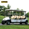 EXCAR 6 Passagiere billige elektrische Golfwagen Golfwagen China Mini-Bus