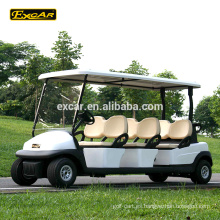 EXCAR 6 pasajeros barato carro de golf eléctrico golf car china mini bus