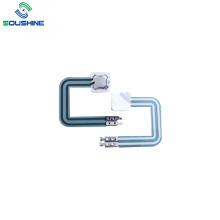 Interruptor de membrana de domo de metal simple con 2 pines