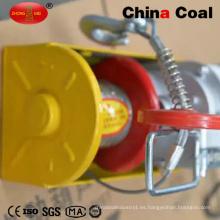 Mini alzamiento de cuerda eléctrico del torno de la construcción 12V DC