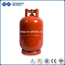Chaîne de production de 5 kg de bouteille de gaz GPL testé en toute sécurité