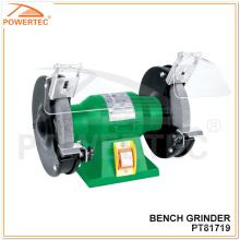 Amoladora de banco portátil eléctrica Powertec 120 / 150W (PT81719)
