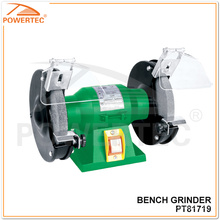 Powertec 120 / 150W elétrica bancada portátil moedor (PT81719)