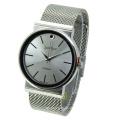 Mesh Gift Alloy Waterproof Men′s Wrist Watch