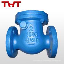 2 bomba de agua de la válvula de retención de la refrigeración del arrabio de la aleta del oscilación