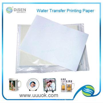 Papier de transfert de l'eau en gros slide