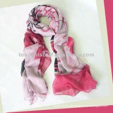2013er neuer Polyester Voile länglicher Schal