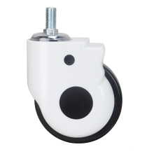 Medical Caster for Hospital Bed ABS Cover TPR Wheel