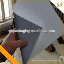 150mic grey white AB film for projection