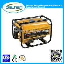 2KW 5.5HP 2.5KW 6.5HP Mini Petrol Generator China Petrol Generator