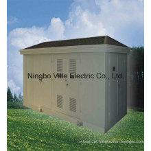 Subestação de Transformador Combinado Tipo de Caixa Subestação de Energia / Transmissão de Distribuição de Energia