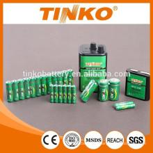 Bateria de zinco-carbono com boa qualidade e preço barato
