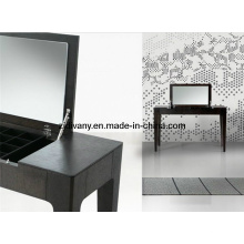 Moderno dormitorio de madera sólida cómoda de muebles