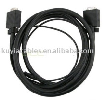 6 Pies HD15 M / M HD Cable SVGA / VGA con Cable de Audio de 3.5mm Cable del Monitor del Proyector