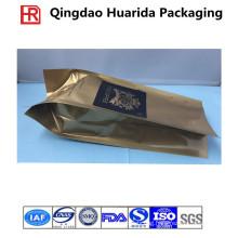 Custom Side Gusset Coffee Bags/Coffee Bean Bag with Valve