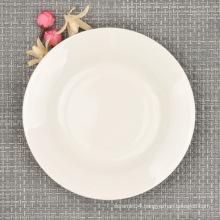 Fine Bone China Modern Dinner Plate, 6 Inch Dinnerware