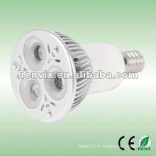 E14 Projecteur LED haute puissance extérieur 3W