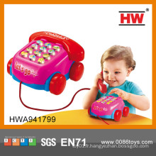 Nouvel article machine à téléphone intelligente en plastique apprenant les jouets pour bébé en gros