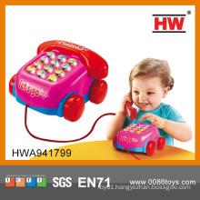 New Item plastic Intelligent telephone machine learning baby toys wholesale