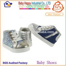 2014 оптовая продажа холст дети повседневная обувь для мальчика
