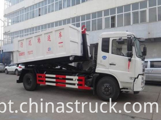 10Ton detachable garbage truck