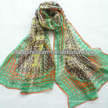 SD319-123 fashion silk scarf printing