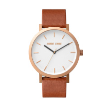 2017 Logo mới của Custom Leather Logo OEM Watch