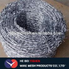 Precio galvanizado del alambre de púas