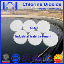 Stabilized Chlorine Dioxide Disinfectant for Sewage Water Treatment