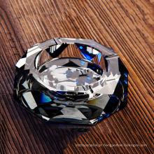 Melhor venda durável usando cinzeiro de vidro de cristal