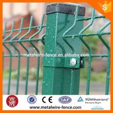 2016 latest galvanized powder pvc coated garden fence / wire mesh fence