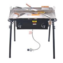 Ourdoor Gas Burner With 31 inch Griddle Set