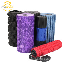 ProCircle Custom alta densidad Yoga Pilates EPP rodillo de espuma vibrante