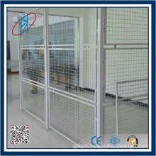 Lockable Steel Fence For Warehouse