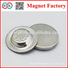 name badges magnet in metal