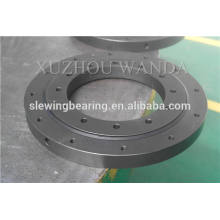 Rolling slewing ring bearing with black oxide coating